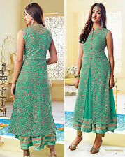 Shanaya Stylish Aqua Green Georgette Kurti / Kurta / Top