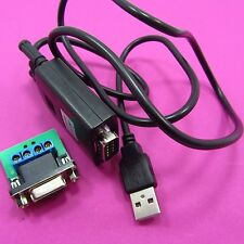 USB 2.0 to RS485 MAX485 Converter Adapter Cable With 9 Pin Female PCB Terminal