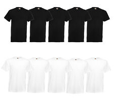 10er Fruit of The Loom T-Shirt Heavy Shirt S-M-L-XL-XXL