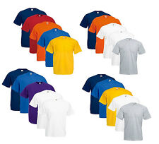 Fruit of the Loom Herren T-Shirt 5er Pack Valueweight Shirts S-M-L-XL-XXL