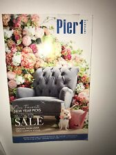PIER 1 IMPORTS January 2017 Catalog Home Decor 15 Pages Gift Ideas NEW