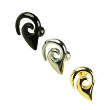 Tribal Ornement Oreille Helix Tragus Bijou Piercing 1,2mm Argent Or ou noir