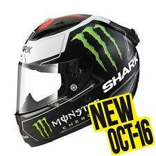 Shark casco integrale RACE-R PRO LORENZO MONSTER Mat Black white red