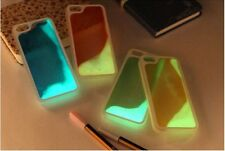 COVER CON LIQUIDO FLUORESCENTE PER IPHONE 5 / 5 S - 6 / 6 s - 6 PLUS - 6 s PLUS