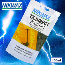 Nikwax TX Direct Wash-In Waterproofing Clothing ReProofer - Gore-Tex eVENT 100ml