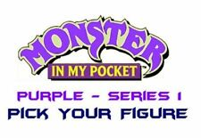 Monster in my Pocket - Series 1 - Mini Figure MIMP Matchbox MEG - Purple