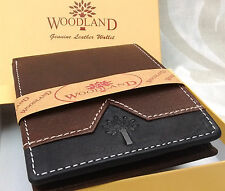New Genuine Leather Money Wallet Purse for Men Gents with Card Slots