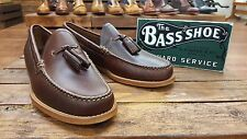 G. H. Bass & Co // Weejuns // Larkin Pull UP // Brown Mens Loafer Shoes // NEW!