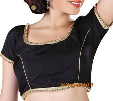 Readymade Saree Blouse, Black Sari Blouse, Designer Saree Blouse, Beaded Blouse