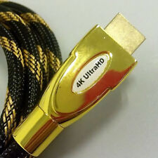 HDMI Cable v2.0 1M 1.5M 2M 3M 5M High Speed 4K UltraHD 2160p 3D Lead ethernet