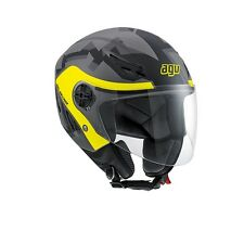 AGV CASCO APERTO OPEN FACE HELMET BLADE CITY E2205 MULTI CAMODAZ