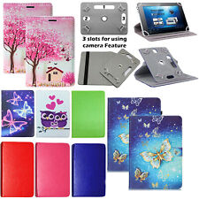 """For Acer Iconia 7"""" 8"""" 10"""" Models NEW FOLDING LEATHER universal Tablet CASE COVER"""