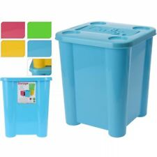 Plastic Kids Childrens Clothes Toy Storage Box Tub Room Tidy Bucket Bin with Lid