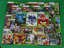 Microsoft XBOX 360 Games / Game Cheap Collection *Choose Yourself*