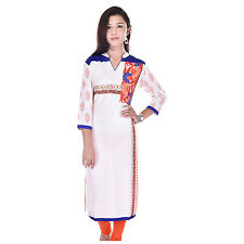 Indian Ethnic  Rayon Designer Printed Casual Wear Kurti Kurta VIKU_5002