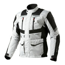 Rev'it! Neptune GTX Chaqueta Para La Motocicleta Negro Plata REV it Revit