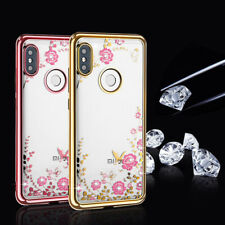 Clear Crystal Diamond Soft Silicone Case For Xiaomi Redmi Note 7 Pro MI A2 Lite