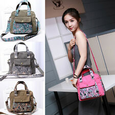 Women's Hobo Satchel Fashion Bag Tote Messenger Canvas Purse Shoulder Handbag H