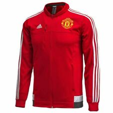 Adidas - MUF ANTHEM JACKET 2015/16 - FELPA MANCHESER UNITED   - art.  AC1927