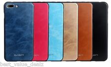 MyColors Pu Leather Luxury back case Cover For apple iphone 7 Plus