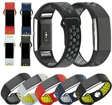 New Silicone Sport Fitness Wrist Strap Band Bracelet For Fitbit Charge 2 Tracker