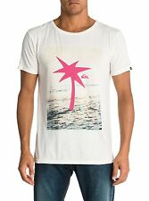 Quiksilver Waiting For Swell Roadie Short Sleeve T-Shirt in Marshmallow