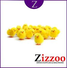 CUTE FLUFFY CHICKS IDEAL FOR EASTER PROJECTS – HATS - ETC FREE P&P!