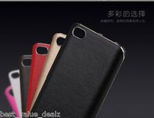 For XIAOMI MI 5 LUXURY CHROME BUMPER PU LEATHER BACK CASE COVER XIAOMI MI5