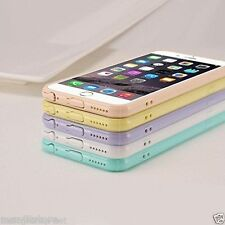Designer Clear Crystal Soft Plastic Back with Cute Design For Apple iphone 6
