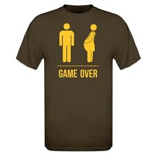 Pregnant Game Over T-Shirt