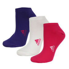 Socks adidas Ankle Plain T3P 3 pairs - white purple red