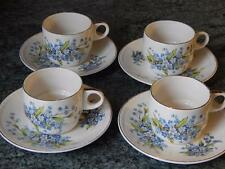 VINTAGE RETRO 1950s/60s BREXTON PICNIC WARE 4 CUPS & SAUCERS for your Basket