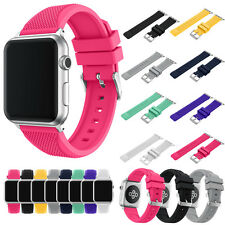 Sport Replacement Silicone Watch Band Bracelet Strap For Apple Watch iWatch 38/4