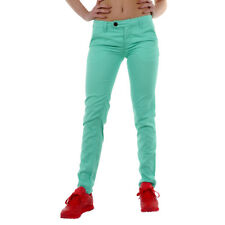 Oldschool Womens Trousers adidas Neo Core Chinos Green 100% cotton