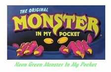 Monster in my Pocket - Series 1 - Mini Figure MIMP Matchbox MEG - Neon Green