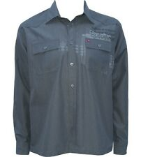Quiksilver Malmo Highness Long Sleeve Shirt in Black