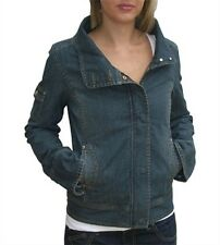 Roxy Hiroko Fashion Jacket in Dark Used Denim