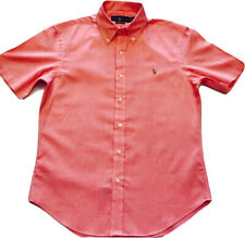 Ralph Lauren Slim Fit Pink Chambray Oxford Shirt
