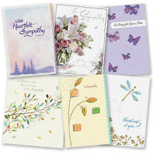 Sympathy Greeting Card - Thoughts Are With You Loss Condolences Thinking of You