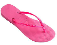 Havaianas Slim Womens Flip Flop - Shocking Pink