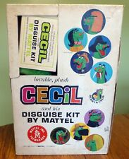 RARE VINTAGE 1950 MATTEL BEANY & CECIL AND HIS DISGUISE KIT IN ORIGINAL BOX