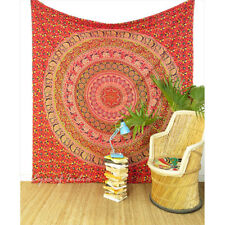 Large Queen Mandala Wall Hanging Tapestry Bedspread Boho Hippie Bohemian Indian