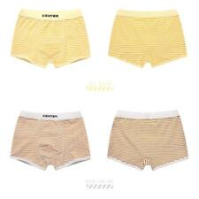 2pcs Kids Boys Striped Cotton Boxer Briefs Shorts Underwear Panties 2 Colors
