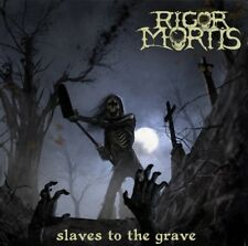 RIGOR MORTIS - Slaves to the Grave  CD+DVD