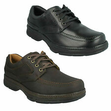 d7804ae536dd STAR STRIDE MENS CLARKS WIDE FIT LACE UP CASUAL ACTIVE AIR CUSHION SMART  SHOES