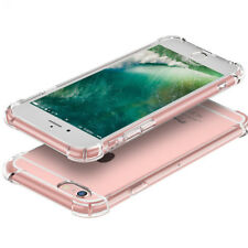 New For Apple iPhone 6 Plus Case Silicone Clear Shockproof Rubber Protective TPU