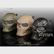 Full face Skull Skeleton Mask Military Tactical Halloween Airsoft Paintball