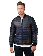 Moncler Jacket - Mens Philippe Down Bomber Jacket in Blue RPP £735