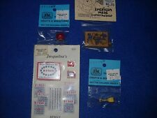 Miniature accessories:  several games and toys, 1:12 scale, NIB, lot #15