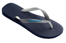 Havaianas Brasil Top Mix Kids Flip Flop - Navy Blue Steel Grey